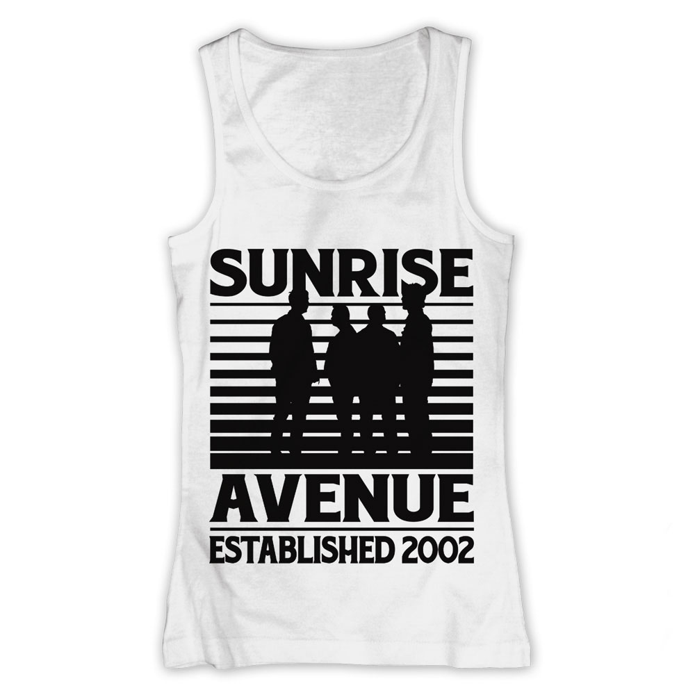 Sunrise avenue forever yours girlie tank top - Sunrise avenue forever yours ...