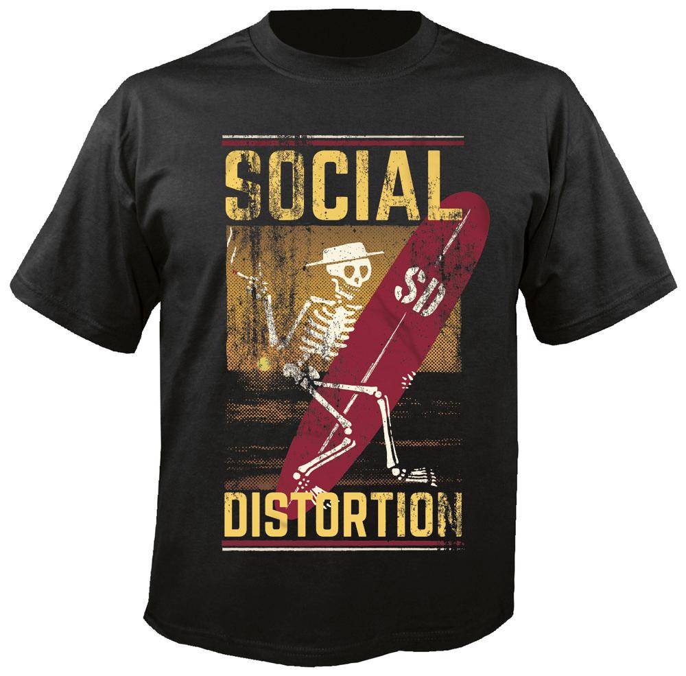 Social distortion hoodie