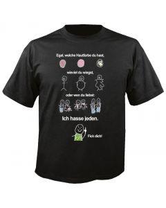Das Leben des Misanthropen - Fun - T-Shirt