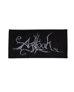 AGALLOCH - White Logo - Patch / Aufnäher