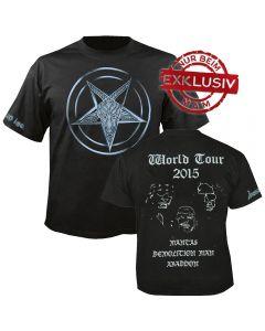 VENOM INC. - Tour 2015 - Logo - T-Shirt