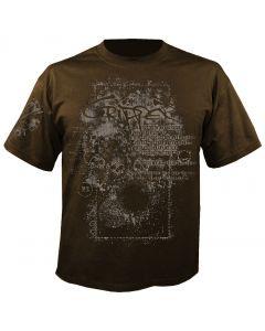 CRIPPER - Seven Inches - Brown - T-Shirt