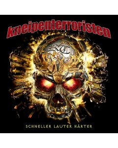 KNEIPENTERRORISTEN - Schneller , Lauter , Härter - CD