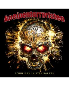 KNEIPENTERRORISTEN - Schneller , Lauter , Härter - DIGI - CD