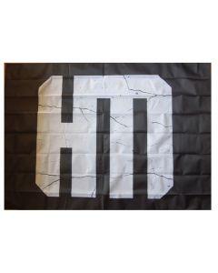 HELDMASCHINE - Broken Logo - Posterflag / Posterfahne