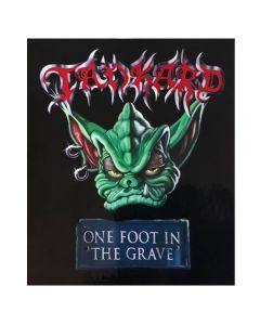 TANKARD - Alien - One Foot in the Grave - Aufkleber / Sticker