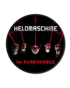HELDMASCHINE - Im Fadenkreuz - Button / Anstecker
