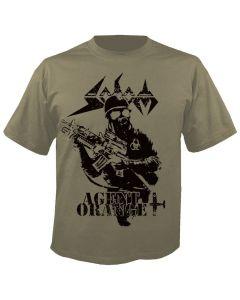 SODOM - 30 Years Agent Orange - Khaki - T-Shirt