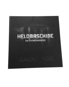 HELDMASCHINE - Backstage - Im Fadenkreuz - Buch / Artbook