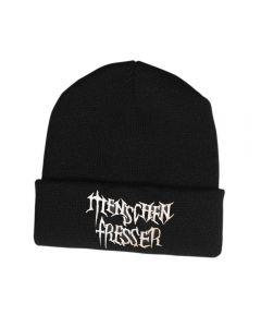 MENSCHENFRESSER - White Logo - Wollmütze / Hat / Beanie