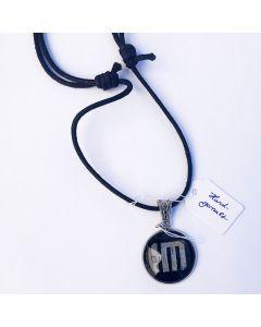 HELDMASCHINE - HM - Logo - Black - Anhänger / Tag