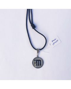 HELDMASCHINE - HM - Logo - Grey - Anhänger / Tag