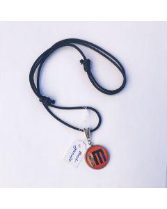 HELDMASCHINE - HM - Logo - Orange - Anhänger / Tag
