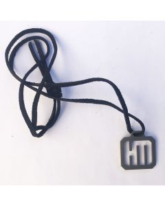 HELDMASCHINE - HM - Logo - Cut-Out - Anhänger / Tag