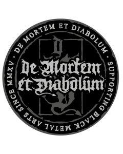 DE MORTEM ET DIABOLUM - Black Metal Arts since MMXV - Patch / Aufnäher