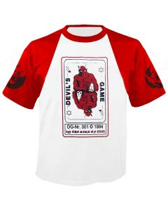 SODOM - Devils Game - Baseball - T-Shirt