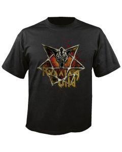 RUNNING WILD - Pentagram - Logo - T-Shirt