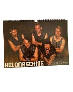 HELDMASCHINE - Die Maschine spricht 2021 - Wandkalender / Wall Calendar