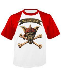 RUNNING WILD - Adrian - Raglan - Baseball - T-Shirt