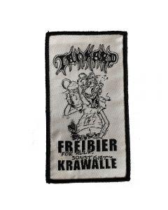 TANKARD - Freibier für Alle - Small - Patch / Aufnäher