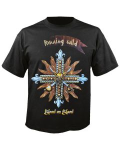 RUNNING WILD - Blood on Blood - Cover - T-Shirt