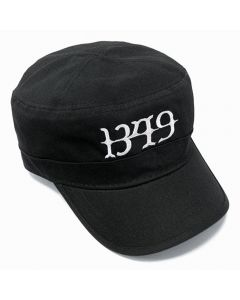 1349 - Logo - Black - Army Cap