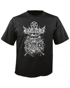 THY ART IS MURDER - Riddick Skull Pile - T-Shirt