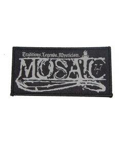 MOSAIC - Traditions , Legends , Mysticism - Patch / Aufnäher
