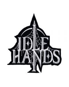 IDLE HANDS - Logo - Cut Out - Patch / Aufnäher