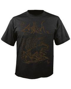 AGALLOCH - Black Lake Nidstang - T-Shirt