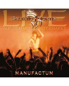 SALTATIO MORTIS - Manufactum - live auf dem Mittelaltermarkt - CD