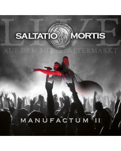 SALTATIO MORTIS - Manufactum II - Live at the Medieval Market - CD