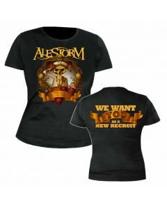 ALESTORM - In the Navy - GIRLIE - Shirt