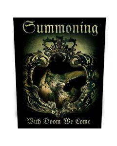 SUMMONING - With Doom We Come - Backpatch / Rückenaufnäher