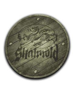 SKALMÖLD - Dragon Shield - Patch / Aufnäher