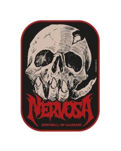 NERVOSA - Downfall of Mankind - Patch / Aufnäher