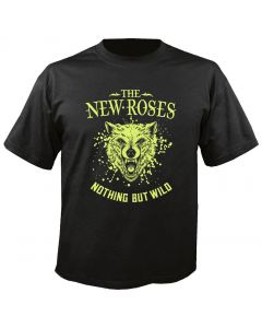 THE NEW ROSES - Cover - Nothing but Wild - T-Shirt