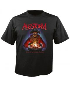 ALESTORM - Cover - Curse of the Crystal Coconut - T-Shirt