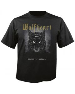 WOLFHEART - Wolves of Karelia - Tracklist - T-Shirt