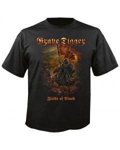 GRAVE DIGGER - Fields of Blood - T-Shirt