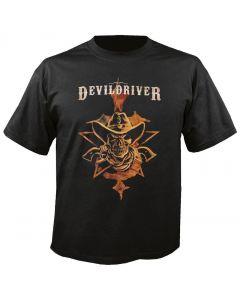 DEVILDRIVER - Outlaws - Cowboy - T-Shirt