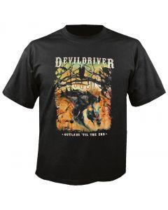 DEVILDRIVER - Outlaws - Til the End - T-Shirt