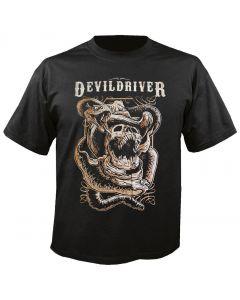 DEVILDRIVER - Outlaws - Snake - T-Shirt
