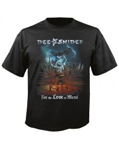 DEE SNIDER - For the Love of Metal - T-Shirt
