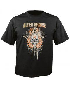 ALTER BRIDGE - Royal Skull - T-Shirt