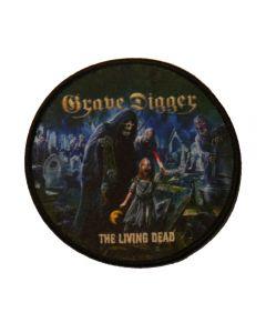 GRAVE DIGGER - The Living Dead - Patch / Aufnäher