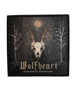 WOLFHEART - Constellation of the black light - Patch / Aufnäher