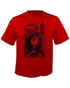 DEATH - Individual Thought Patterns - Red - T-Shirt