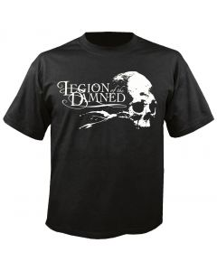 LEGION OF THE DAMNED - Logo - Skull - T-Shirt