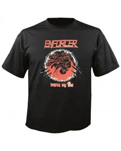 ENFORCER - Death by Fire - Cover - T-Shirt